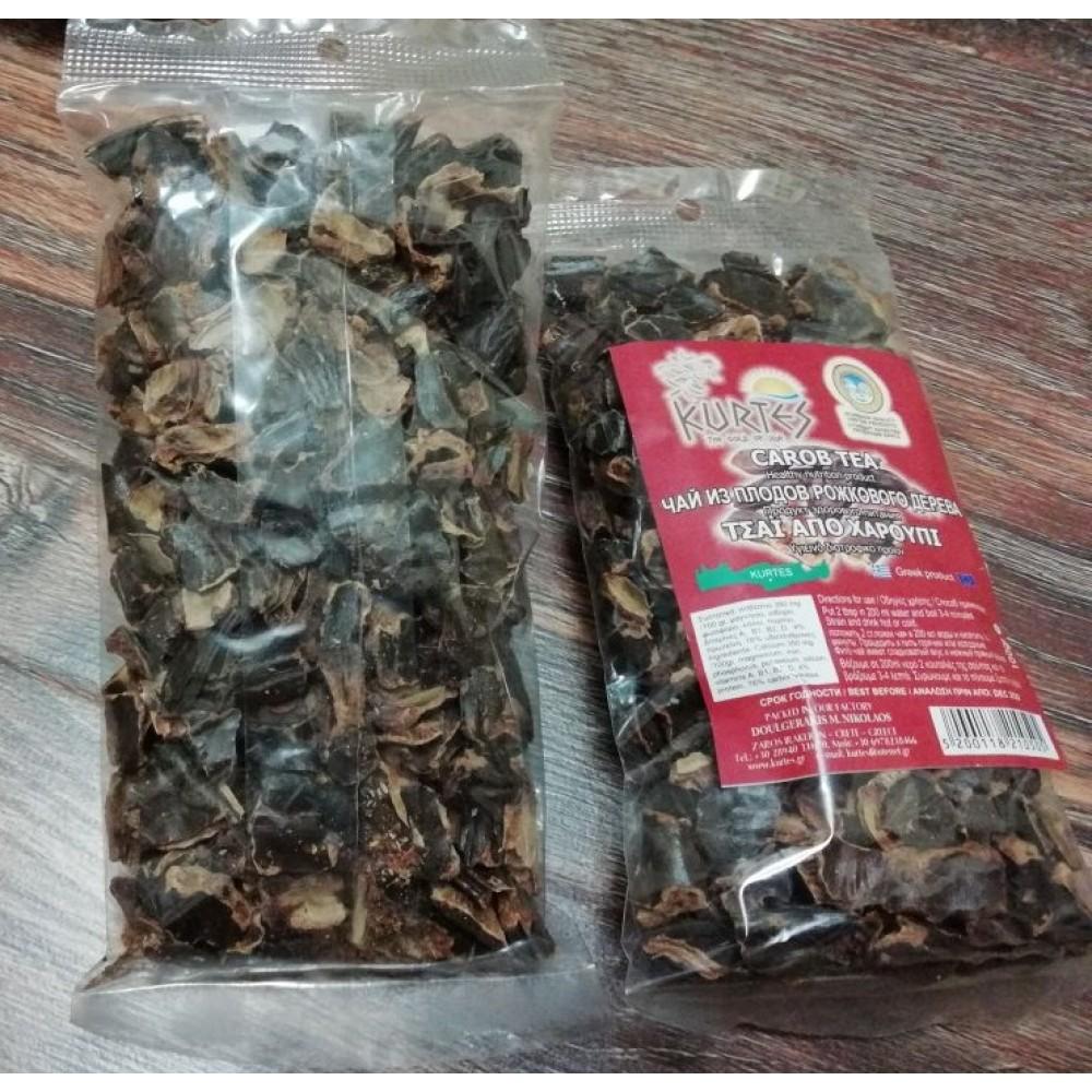Плоды рожкового дерева (кэроб) кусочки 100 гр. - доставка в Москву