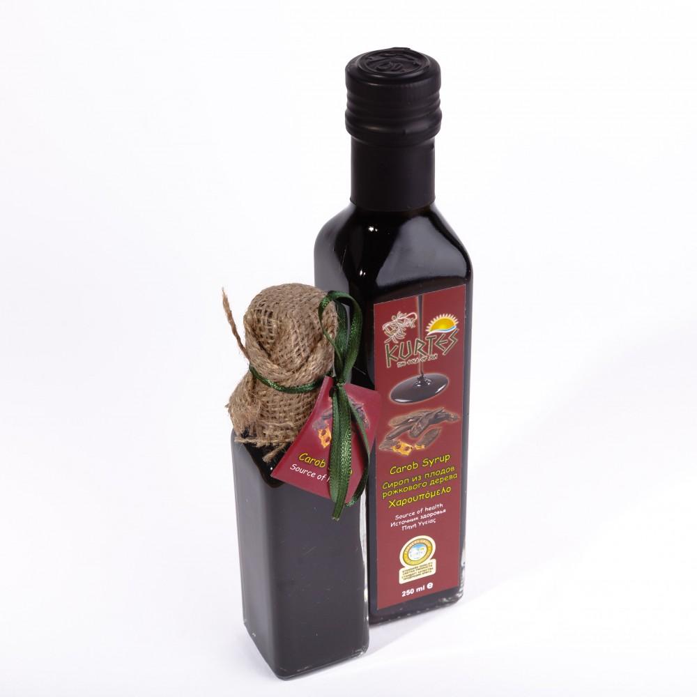 Сироп из плодов рожкового дерева (кэроб) 250мл. - KURTES - доставка в Москву