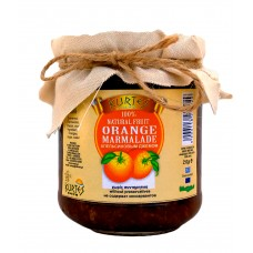Апельсиновый конфитюр (джем) KURTES 250 мл.