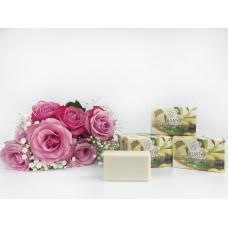 Оливковое мыло KURTES с ароматом розы - 90г.